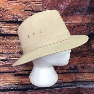 Dorfman Pacific Cream Safari Hiker Hat